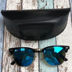 RayBan ClubMaster RB3016 Unisex Sunglasses /TIE347